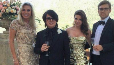 Valentin Yudashkin și-a măritat fiica! Vezi ce rochie a purtat mireasa!