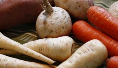 Rădăcinoasele în dietă te menţin în formă cu minim de calorii şi maxim de sănătate