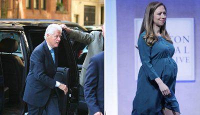 Bill Clinton a devenit pentru prima oară bunic!