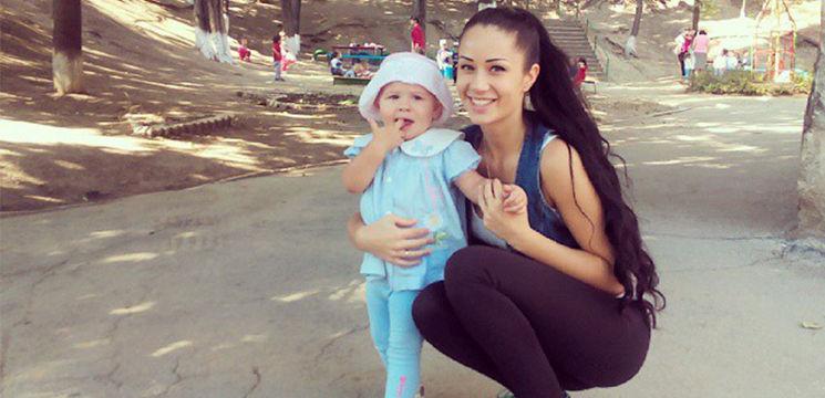 """Foto: Irina Tarasiuc vrea ca fiica ei să învețe limba """"moldovenească"""" la grădiniță"""