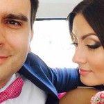 Foto: Alecu Mătrăgună și Cornelia Corlătean s-au cununat! Poze