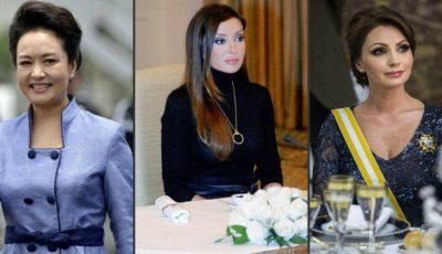 Poze! Cele mai frumoase soții de președinți!