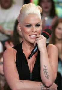MTV TRL With Pink