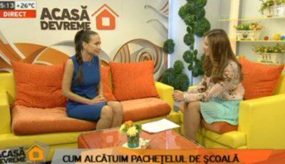 Galina Tomaș: Pachețelul  școlarului nu poate înlocui micul dejun și nici prânzul.