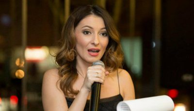 Angela Gonța, în rol de profesoară