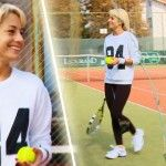 Foto: Video! Natalia Gordienko a participat la Campionatul de Tenis