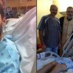 Foto: A ieșit din comă! Tânărul din Moldova, care a suferit un atac cerebral în SUA, a uimit medicii!