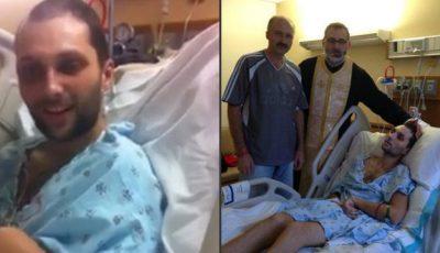 A ieșit din comă! Tânărul din Moldova, care a suferit un atac cerebral în SUA, a uimit medicii!