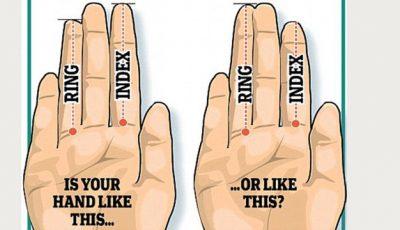 Se referă la bărbați. Vezi cât sunt de fertili în funcție de lungimea  degetelor
