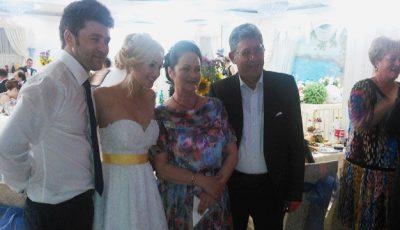 Ioana Căpraru și-a măritat mezina! Chiar de ziua ei de naștere!