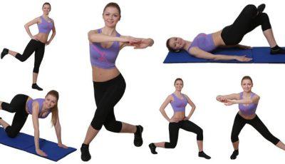 Lucrează-ți fesele! 5 exerciții simple