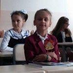 Foto: Primul clopoțel a sunat și pentru fiica Nataliei Cheptene