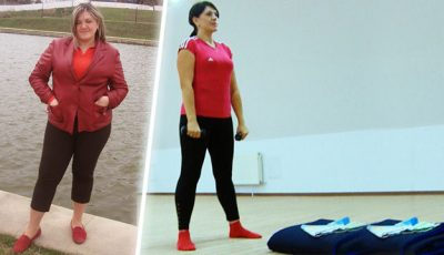 """Olesea Chirtoacă:  """"În timp ce am slăbit am trecut prin toate etapele: dezamăgire, depresie și euforie"""""""