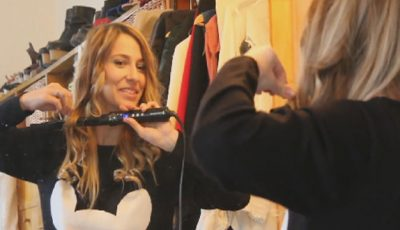Dana Rogoz te învaţă cum să-ţi faci bucle rapid!