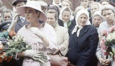 Șoc pentru rusoaice. Christian Dior la Moscova în 1959