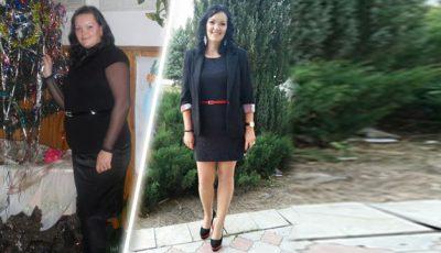 """""""Am pierdut lupta la Un Nou Început, însă am câștigat lupta cu kilogramele""""! De la 105 la 81 kilograme"""