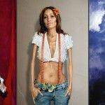 Foto: Cum ar arăta vedetele dacă ar suferi de anorexie!