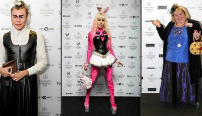 Machiaj vulgar și accesorii sintetice la Fashion Week-ul de la Moscova