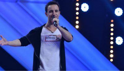 """Vova de la Chișinău a cântat """"Titanium"""" la X Factor"""