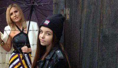 Dianna Rotaru, în ploaie, lângă o sârmă ghimpată. Ce face vedeta