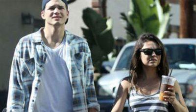 Ashton Kutcher a devenit tătic. Mila Kunis a născut