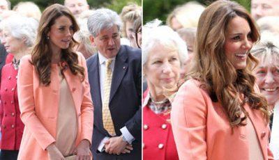 Kate Middleton a plecat de la Palat