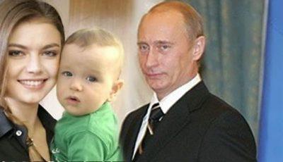 Confirmat! Alina Kabaeva are doi copii
