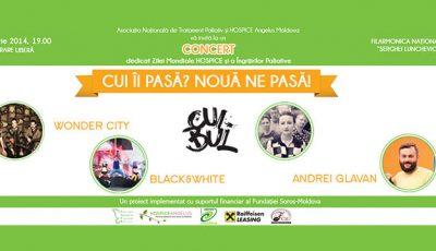 Intrare liberă la concertul dedicat Zilei Mondiale a Îngrijirii Paliative