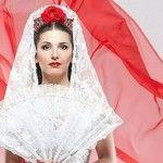 Foto: Tania Cergă, mireasă în stil flamenco spaniol!