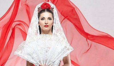 Tania Cergă, mireasă în stil flamenco spaniol!