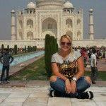 """Foto: Alexandra Porubin nu va mai reveni în India: """"E murdar! Îmi dezinfectam faţa şi hainele la fiecare 10 minute """""""