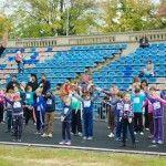 Foto: 80 de copii au alergat pentru o cauză nobilă!