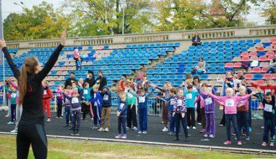 80 de copii au alergat pentru o cauză nobilă!