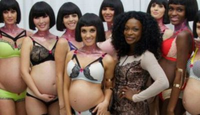 Și gravidele vor să poarte lenjerie sexy!