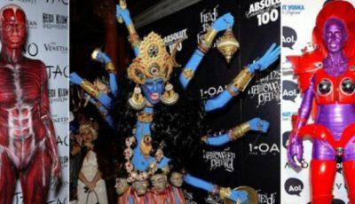 Inspiră-te de la Heidi Klum pentru seara de Halloween!