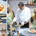 Foto: Cum se prepară o pizza italiană adevărată! Master class Lo Chef