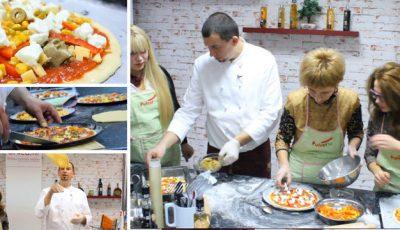 Cum se prepară o pizza italiană adevărată! Master class Lo Chef