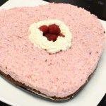 Foto: Tort de ricotta cu zmeură