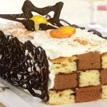 Foto: Prăjitură şah-mat