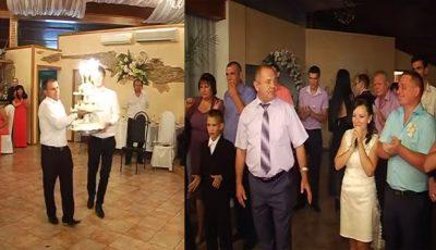Şoc la o nuntă din Moldova. Chelnerii au distrus evenimentul