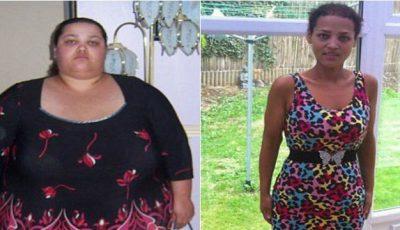 A slăbit cu 127 kg, refuzând ajutorul medicilor!