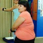 Foto: Tragedia familiei a schimbat-o! S-a îngrășat cu 40 de kilograme