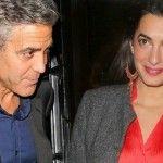 Foto: George și Amal Clooney vor avea un copil!