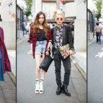 Foto: Carouri și încălțăminte cu talpa groasă la Tokyo Fashion Week