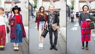 Carouri și încălțăminte cu talpa groasă la Tokyo Fashion Week