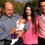 Foto: Traian Băsescu a devenit bunic pentru a doua oară. Poze