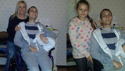 Tânărul care a suferit un atac cerebral în America a revenit acasă