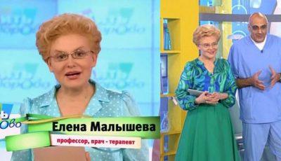 """Elena Malysheva: """"De 15 ani lupt cu kilogramele în plus"""""""