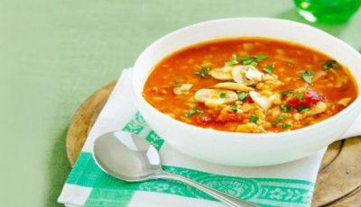 Supă delicioasă cu ciuperci