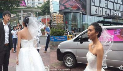 O mireasă a fost părăsită în ziua nunții din cauza machiajului său! Video